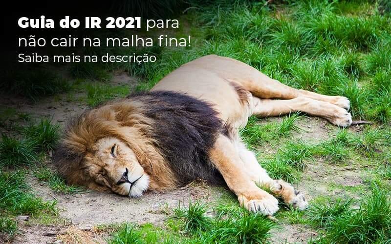 Guia Ir 2021 Para Nao Cair Na Malha Fina Saiba Mais Na Descricao Post 1 Organização Contábil Lawini - Evolução Gestão Empresarial